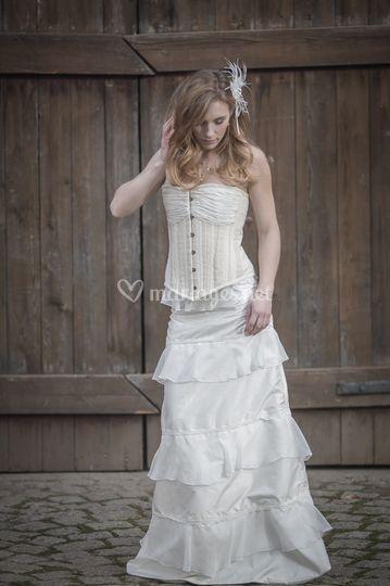 Robe de mariée Brunissandre
