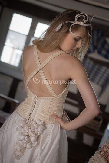 Robe de mariée bustier Eden