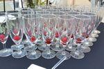 Champagne et framboises