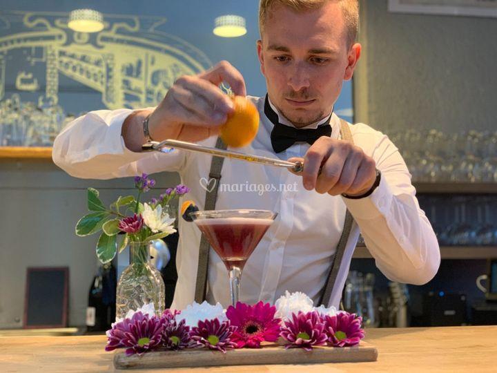 Un Barman à votre service