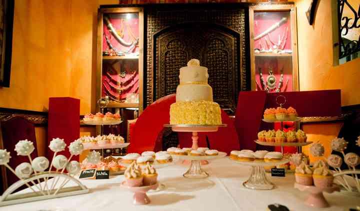 Sweet table orientale
