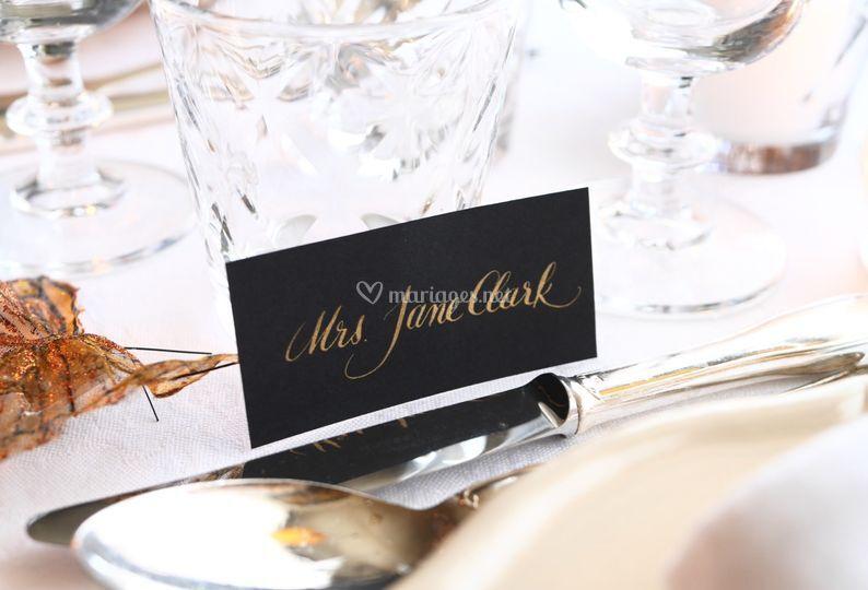 Noms de table