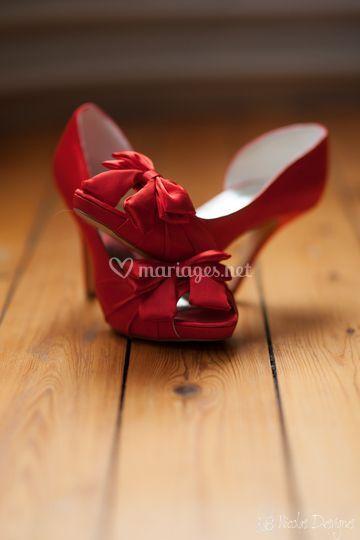 Chaussures de mariée
