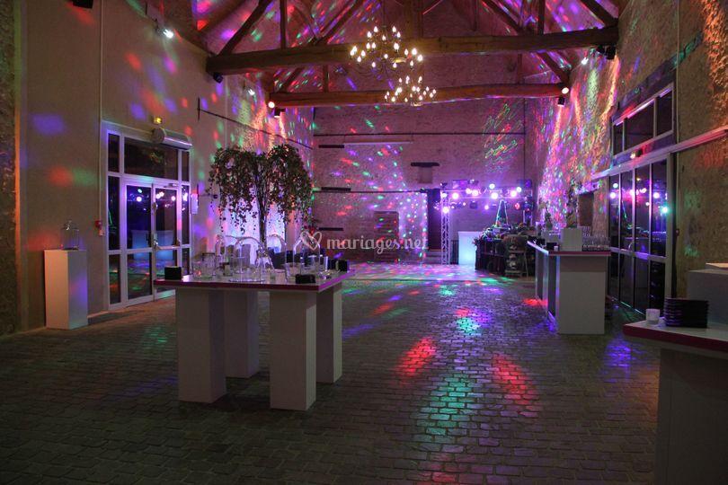 Ambiance lumineuse - La Grange