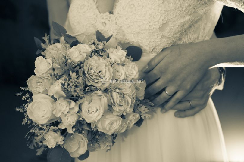 Bouquet sepia
