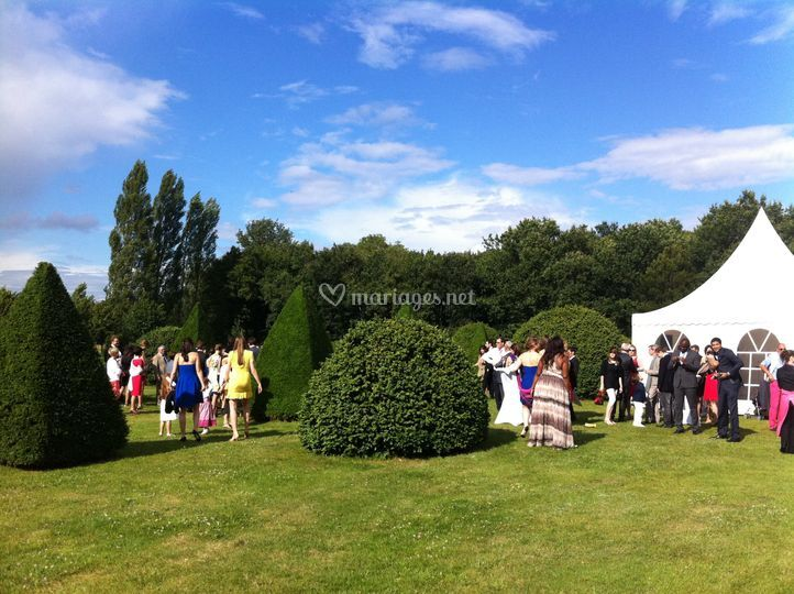 Mariage à Chambiers