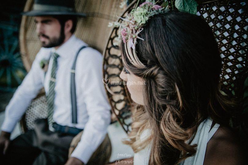 Mariage Folk By Anna Cruz