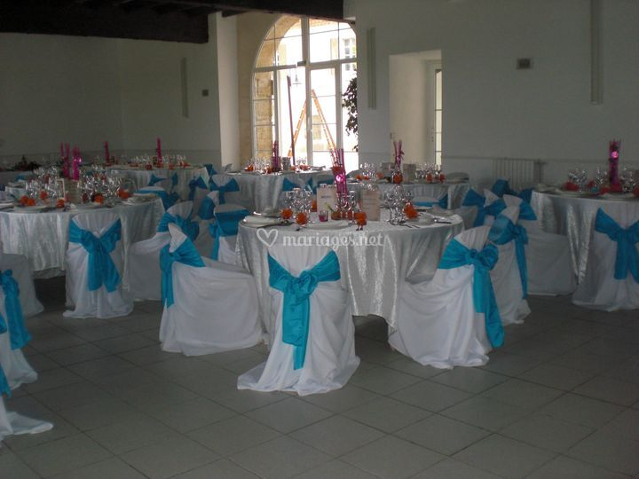 Mariage turquoise