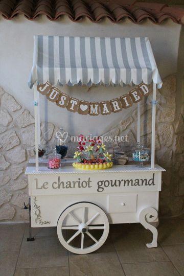Chariot de bonbons
