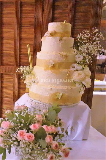 Wedding cake maison