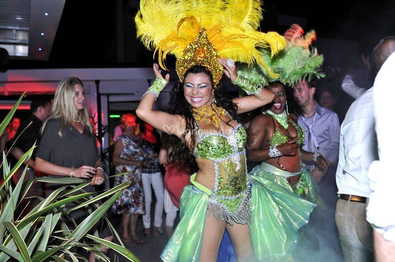 Danseuse bresiliene montpellie