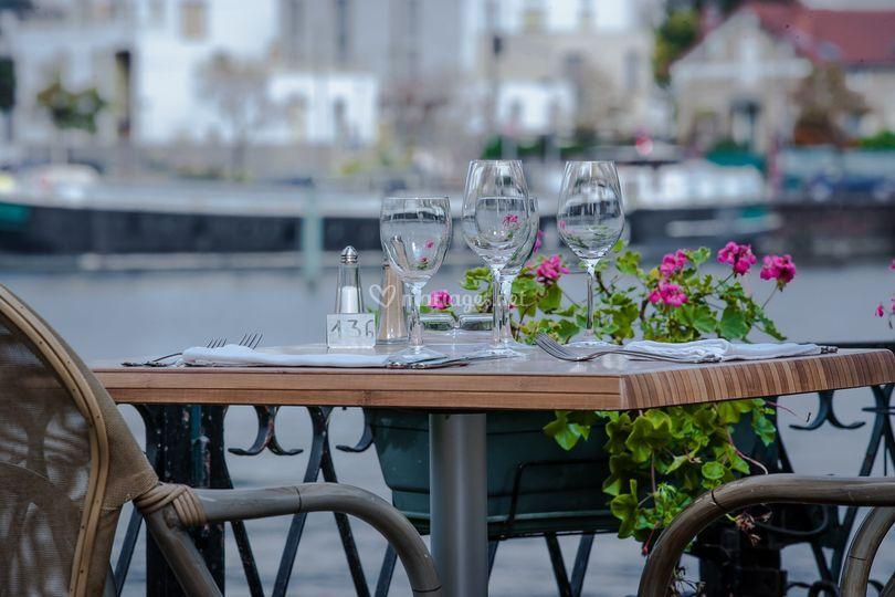 Le Gibraltar - La terrasse