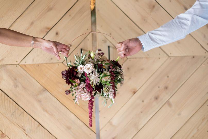 Bouquet de Mariée partagé...