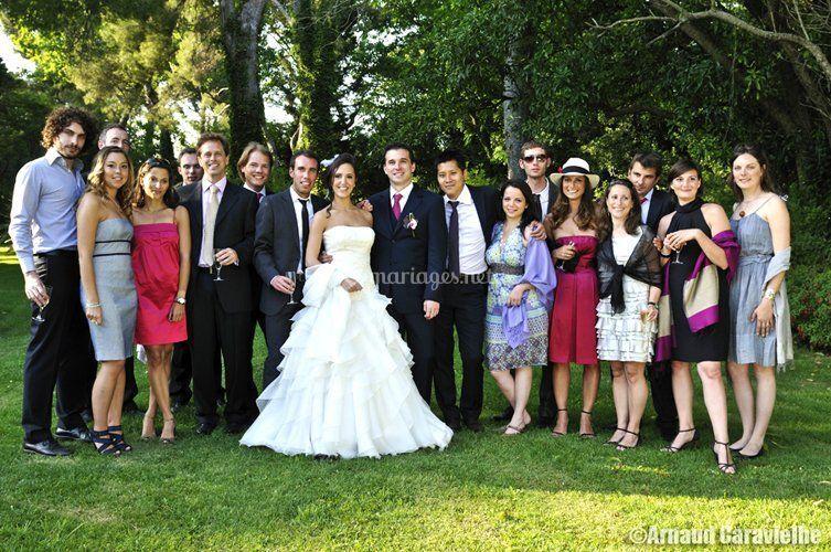 Mariage photo groupe