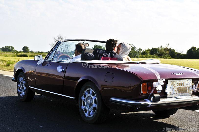 Mariage Cortège voiture