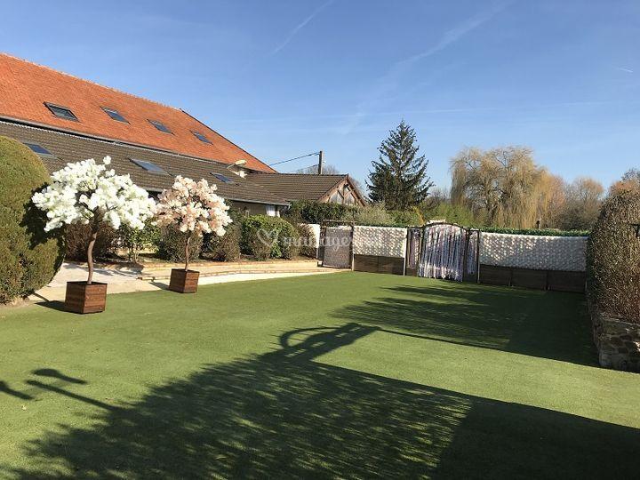 Jardin grange
