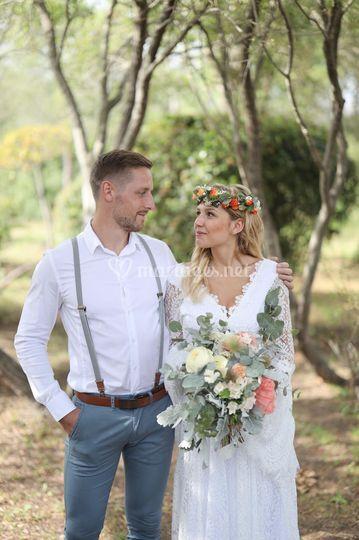 Mariage Bohème en Corse