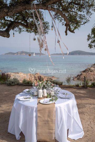 Mariage à la plage - Corse