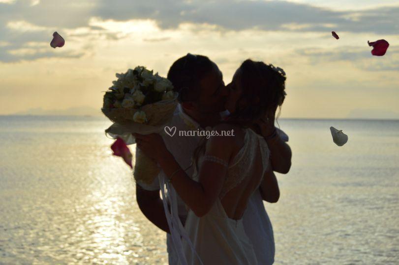 Mariage à la plage Corse