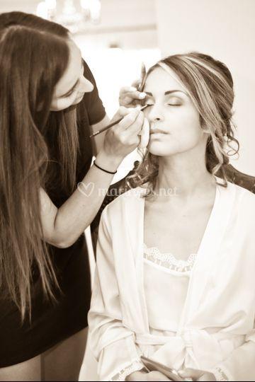 Make up mariage ©Flotograff