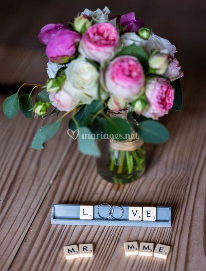 Bouquet et alliance