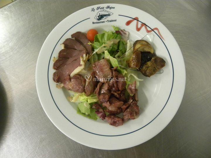 Salade du gers