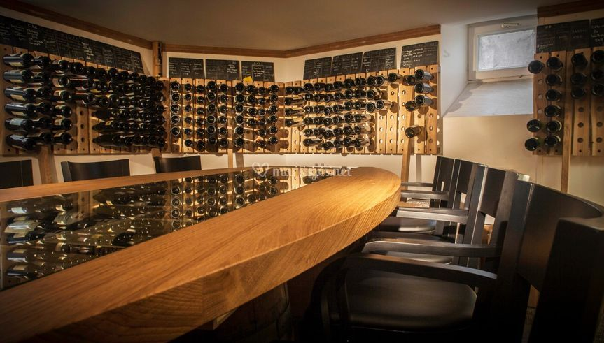 La cave à vins
