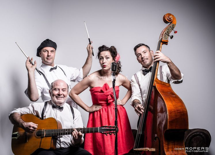 Quartet Oulala Jazz band