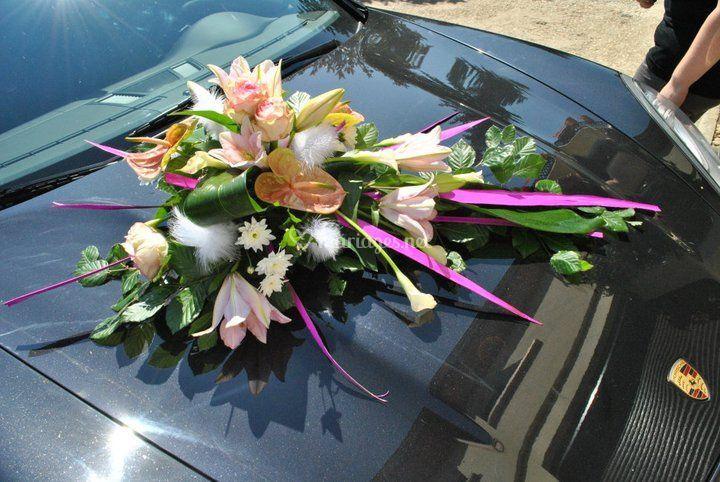 Voiture naturel de fleur th fleuriste a domicile photo 3 for Fleuriste a domicile