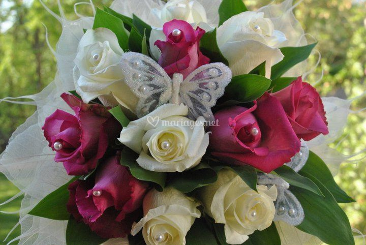 Bouquet de mari e naturel de fleur th fleuriste a for Bouquet a domicile