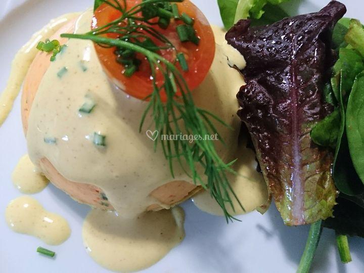 Bavaroise de saumon