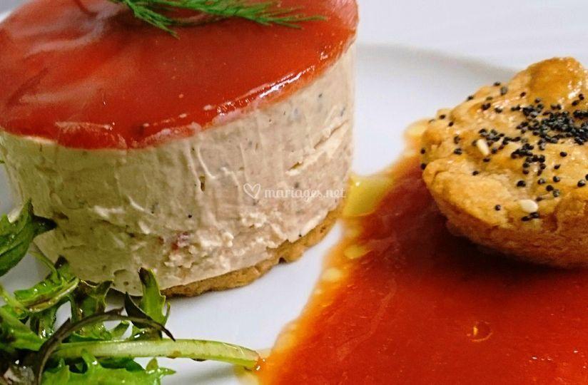 Fraîcheur tomates et basilic