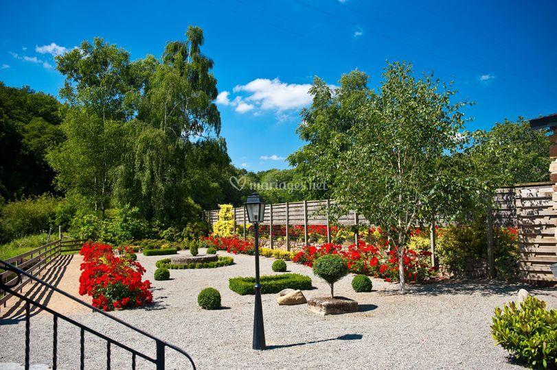 Jardin de la salle du Moulin