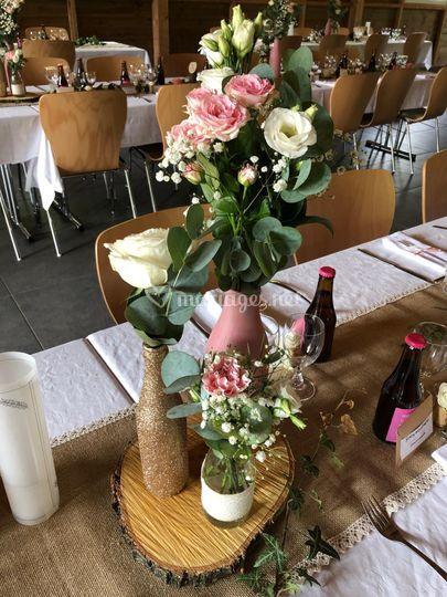 Fleurs tables