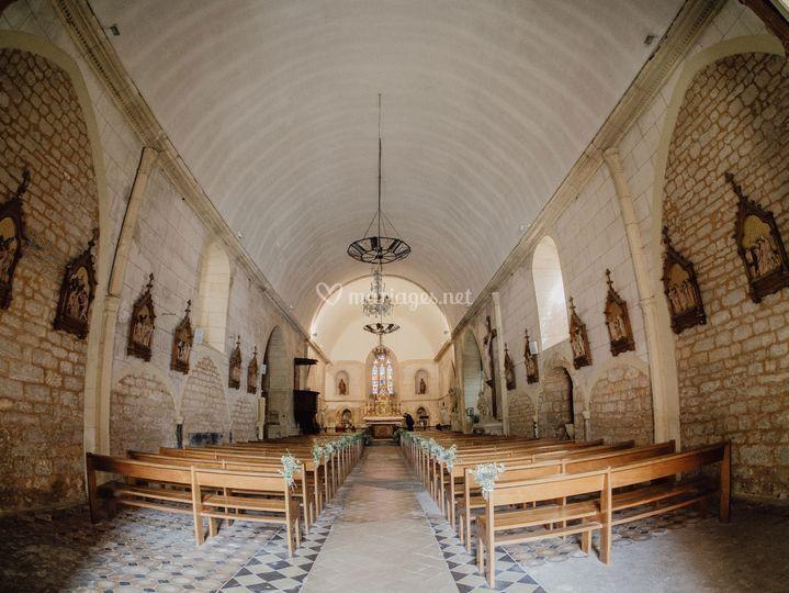 Mariage de E&L en Dordogne