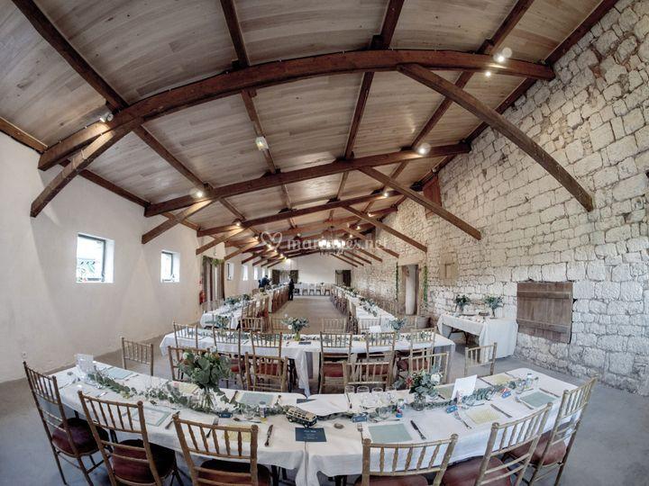Salle de réception en Dordogne