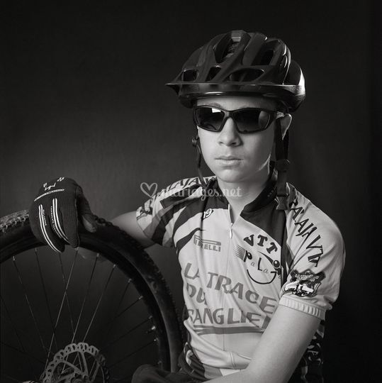 Portrait de sportif