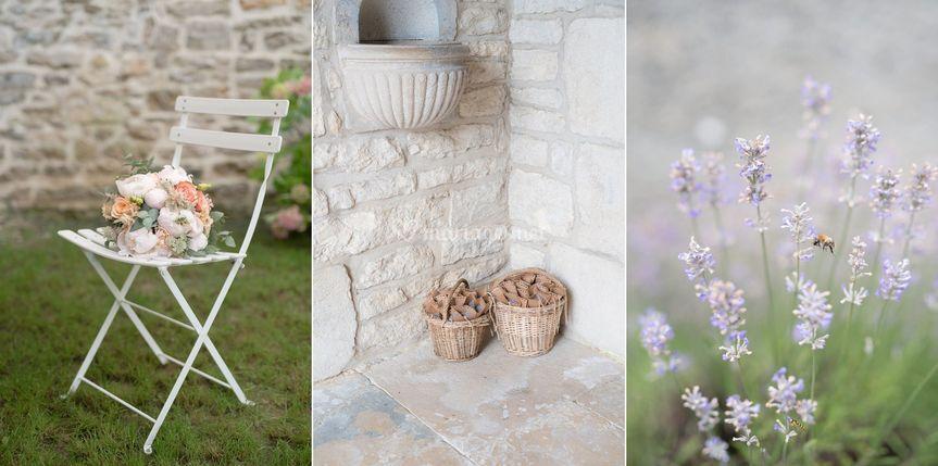 Détails Bouquet Lavande