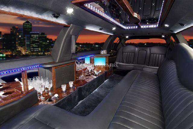 Limousine intérieur