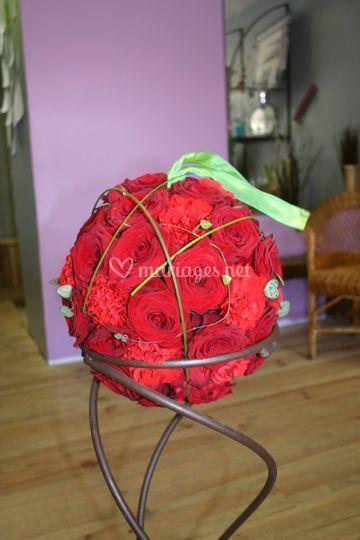 Bouquet boule passion