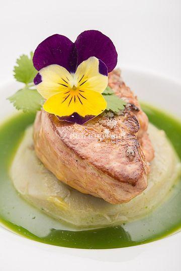 Foie gras chaud & artichaut