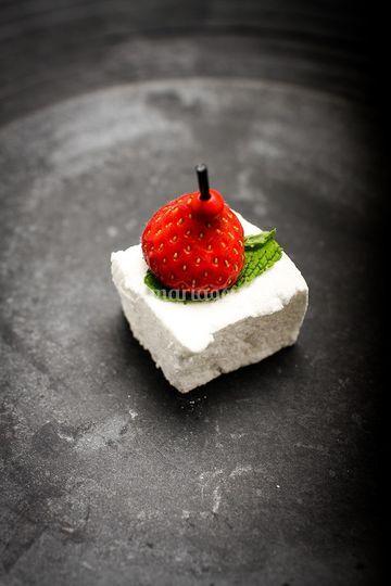 Guimauve fraise menthe