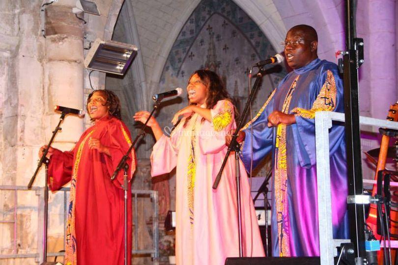 Gospel BAYINA Tribe en concert