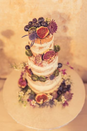 Naked cake automnal