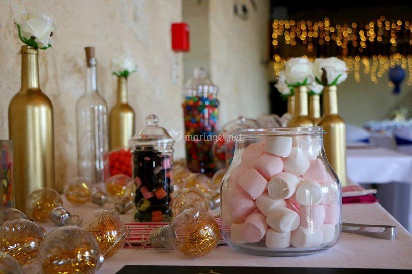 Le candy bar !