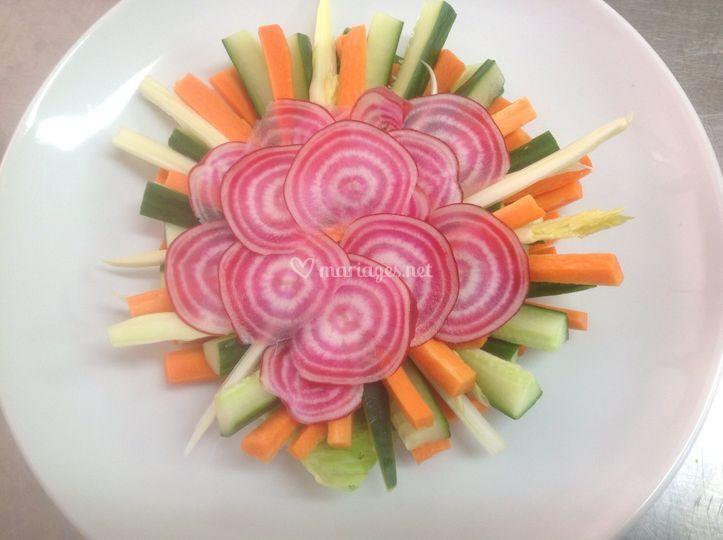 Rosace végétariens