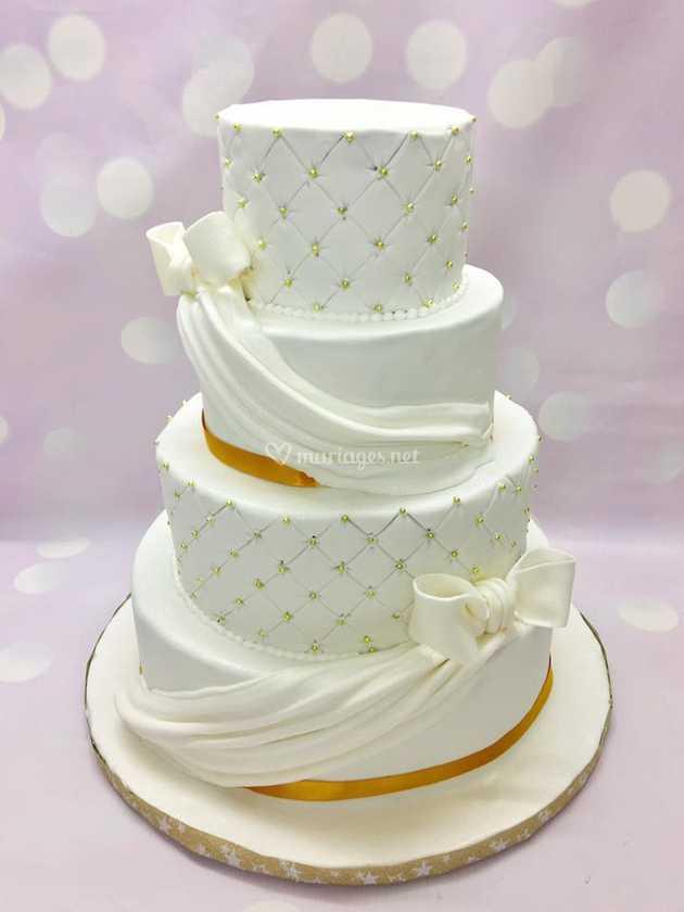 Wedding Cake Drapes De Lovely Cakes Photo 14