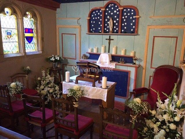 Mariage dans la Chapelle