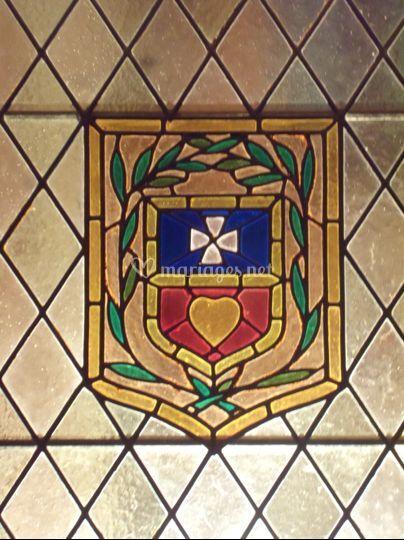 Les armoiries du Château
