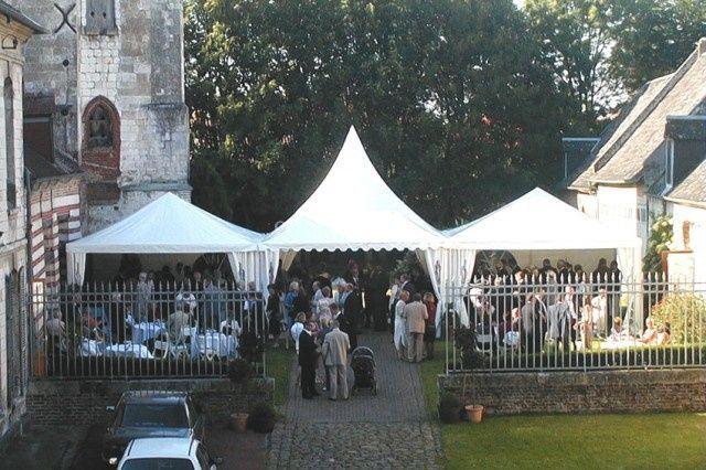 Château de Flesselles - les 3 tentes